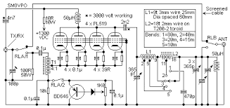schematic diagram 500 watts amplifier the wiring diagram 500 watt pa by sm0vpo wiring diagram