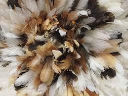 juju feather hat partridge white