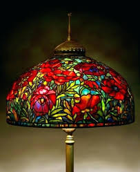 stained glass torchiere lamp shades for floor lamps