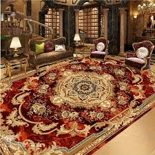 68 3d classic fl rug pattern pvc waterproof non slip eco friendly sy floor murals