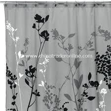 black and white chevron shower curtain. purple and white chevron fabric shower curtain charming inspiration black