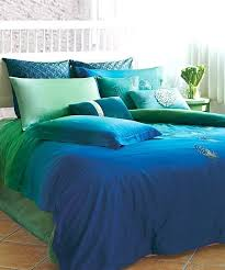 full image for seasons collection ocean blue duvet cover set in blue and green beyond the