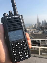 motorola 7550. the motorola xpr 7550 vhf transceiver will take place of my radius cp200, as shown in picture, below. i either sell or use it a