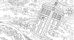 Small Picture The Doctor Who Coloring Book Boing Boing