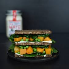 Rye Bread Sandwich With Black Truffle Mayonaise Anne Travel Foodie