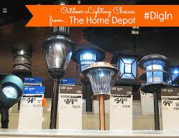 outdoor solar lights home depot home depot led solar lights big led bike lights