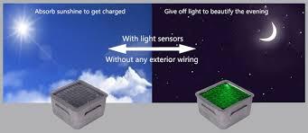 <b>Solar LED</b> Paver Lights