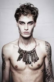 gothic male make up art