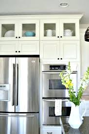 alluring kitchen cabinets with glass doors best ideas upper fronts small