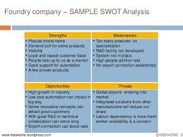 Business Swot Analysis Inspiration Business Swot Analysis Simple Resume Examples For Jobs