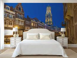 Fotobehang Stad Fotobehang Utrecht At Night