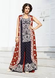 Punjabi Suit With Long Jacket Design Long Jacket Dresses For Weddings Weddings Dresses