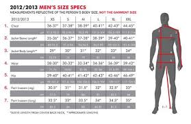 Womens Snowboard Length Chart Mens Clothing Size Chart 686 Snowboard Clothing Size