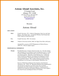 Resume Examples With Associates Degree Your Prospex
