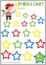 Reward Chart Stickers Free Printable Free Reward Charts For Kids Printable Sada Margarethaydon Com