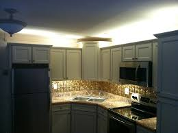 upper cabinet lighting. Above Cabinet Lighting Home Design Ideas And Pictures Over Counter Upper E