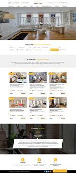 apartment website design. Apartment Web Design For A Company In Czech Republic | 16855527 Website