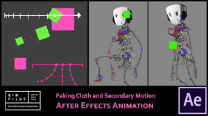 After Effects Animation After Effects Simulate Cloth Animation Expression Toolfarm