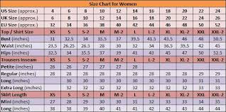 Womens Jeans Size Chart Length Awesome Size Chart Womens Size Chart Clothing Size Chart