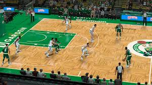 boston td garden. Boston Celtics TD Garden Court Td