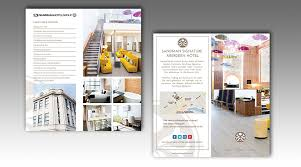 Mini Brochure Design Sandman Signature Hotel Mini Brochures Lfi Creative