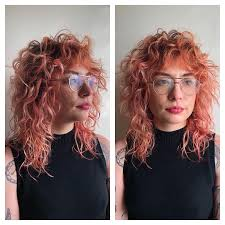 Psychedelic Dream Shag I Think I Love Cutting Curly Hair Most