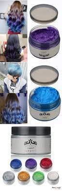 4 Colors Unisex Diy Hair Color