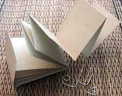 easy fold book craft project and plete instructions