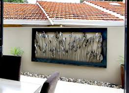 Small Picture Stunning Exterior Metal Wall Art Gallery Trends Ideas 2017