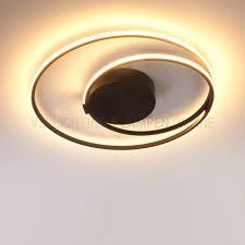Rond Plafondlamp Design Ophelia Zwart Kopen