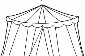 circus tent coloring page make crafts free printable carnival pages