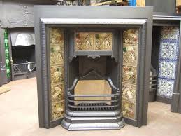 arts and crafts fireplace insert ideas