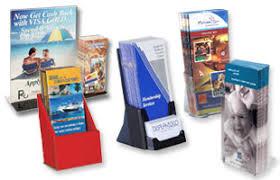 Flyer Display Stands Custom Print Merchandising Cardboard Countertop Brochure Counter 67