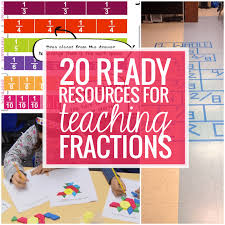 Fractions - 20 Ready to Go Resources and Activities - Teach Junkie