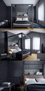 Camera da Letto Nera: 20 Idee per Arredi di Design in Stile Dark