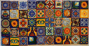 talavera tile wall art