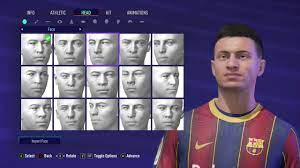 FIFA 21   PEDRI PRO CLUBS LOOK ALIKE TUTORIAL   BARCELONA