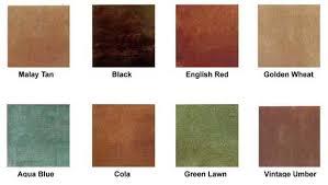 Kemiko Color Chart Luxurious Concrete
