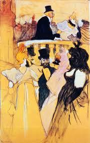 henri de toulouse lautrec at the opera ball 1893