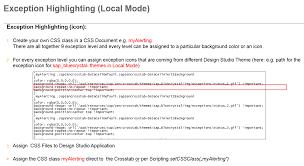 Design Studio Css Class Css Design Studio Best Practices Asug Webcast Part 2 Sap Blogs