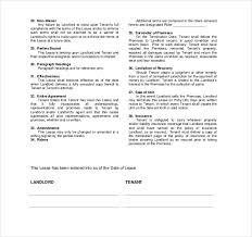 24 Rental Agreement Templates Pdf Doc Free Premium Templates