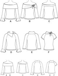Raglan Sleeve Pattern Cool Simplicity 48 Raglan Sleeve Knit Tops