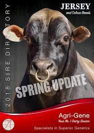 Agri-Gene 2018 Spring Jersey Update by Agri-Gene - issuu