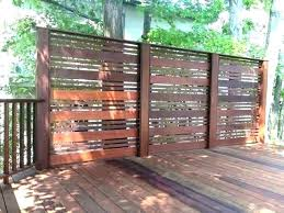 outdoor privacy screens for decks best outdoor privacy screen ideas for your backyard decking