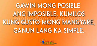 Tagalog Inspirational Quotes About Life And Struggles