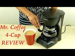 That said, there is an alternative way you can know the power consumption level of your coffee maker. Mr Coffee 4 Cup Coffee Maker Review Youtube