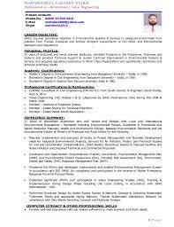 Environmental Health Safety Engineer Sample Resume Classy MHS Detailed CV PDF May 48 48Re48