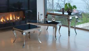 louis black large coffee table
