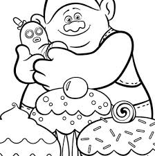 Trolls Coloring Sheets Kids Coloring 2018 Pervis Spanncom