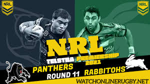 Penrith panthers coach ivan cleary has praised the two hometown heroes in matt burton and isaah yeo, following their standout performances at dubbo on sunday afternoon. Rabbitohs Vs Panthers Round 11 Live Stream 2021 Nrl Rugby